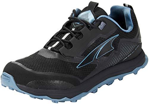 ALTRA Women's AL0A4VR9 Lone Peak All-WTHR Low Trail Running Shoe, Black - 8 W US