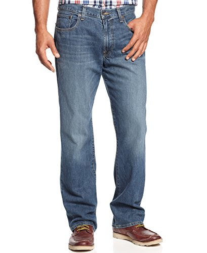 Lucky Brand Men's 181 Relaxed Straight Jean, Dellwood, 38W X 34L