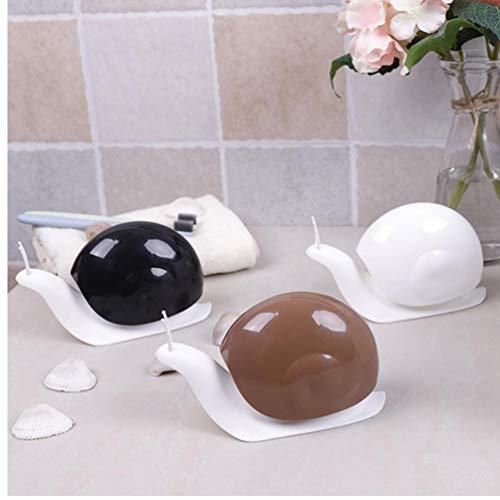 TOSSPER Karikatur-Schnecke Form Liquid Seifenspender Aufbewahrungsbehälter für Badezimmer-Dekor Squeeze Typ Automatischer Flüssigseifenspender zufällige Farbe