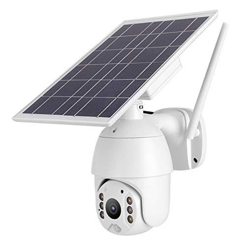 IP PTZ de WiFi de la Leva de la cámara de Red de la detección de Movimiento de la energía Solar 1080P para al Aire Libre