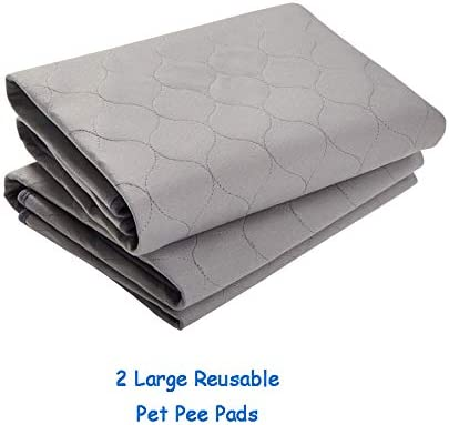 Paw Jamboree Washable Pee Pads for Dogs Training Pads for Dogs Absorbent Waterproof Pee Pad Reusable Puppy Training Pads Dog Whelping Mats
