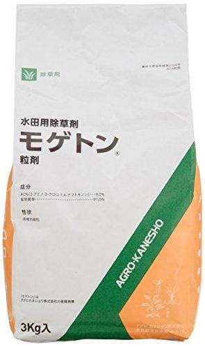 アグロカネショウ 水稲用除草剤 モゲトン粒剤 3�s