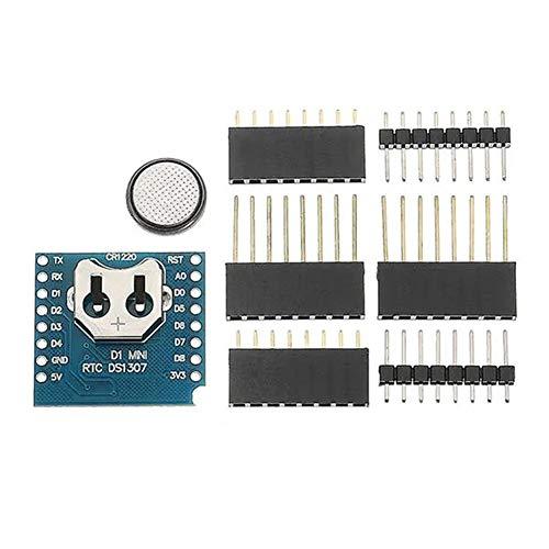 Por Junta Desarrollo 3Pcs RTC DS1307 reloj de tiempo real + Escudo de la batería Para arduino