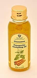 Ein Gedi Biblical Essential Anointing Oil 30ml From Holy Land Jerusalem by Bethlehem Gifts TM (Cinnamon Prosperity)