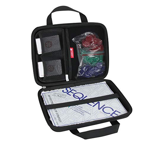 Hermitshell Hard Travel Case for Jax Sequence  Original Sequence Game Not Including Cards