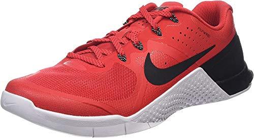 Nike 819899-601, Zapatillas de Deporte Hombre, Rojo (Action Red/Black-White), 47 EU