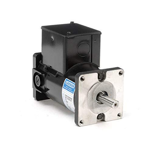Permanent Magnet 90V DC Motor 1/8 hp 3500 RPM 31CS Frame Leeson Electric Motor # M1120059