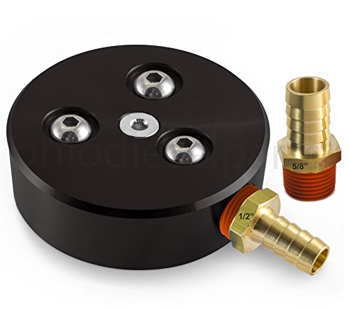 Ohio Diesel Parts Fuel Tank Sump Kit for Diesel or Gasoline Fuel Tanks with 1/2' and 5/8' Barb Sizes...