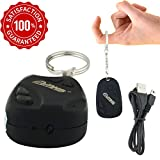 M MHB® Hidden Spy Camera Keychain Portable Mini DV Cam for Recording, Micro