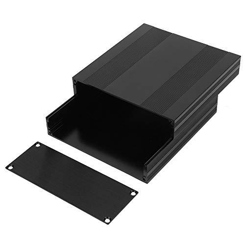 Aluminium Box - Schwarz Aluminium Leiterplatte Box Split Typ DIY Electronic Project Enclosure Fall