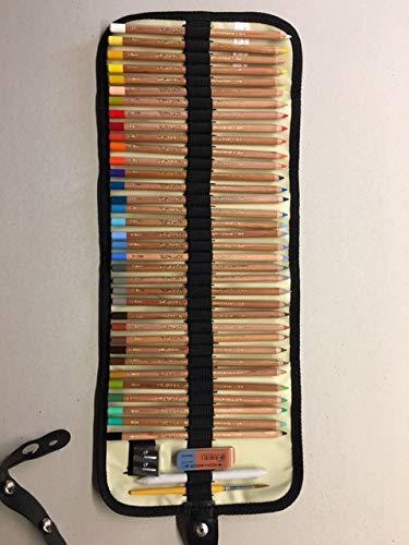 KSW-S-1001PS - Rolltaschenset - Gioconda 36 Pastellkreidestifte & vieles mehr - in einem Stiftegürtel
