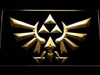 Legend Of Zelda Triforce LED Neon Sign Man Cave E053-Y