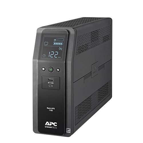 APC American Power Conversion 24313762 Back-UPS Pro UPS Black...