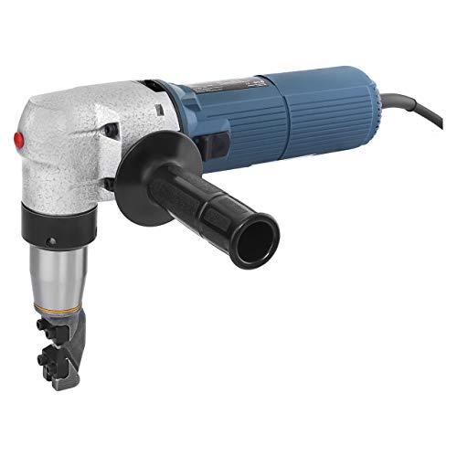 MSW BLS-300 BlechknabberElektrische Blechschere Blechnibbler (625 W, Hubzahl 1.000/min, Schnittbreite 4,0 mm, inkl. Zubehör)