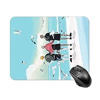 ハイキュー 大判マウスパッド パソコン 周辺機器 アニメ 漫画 ゲーム 冨冈 义勇 鬼滅の刃 マウス マウスパッド キーボードパッド 超大型 防水 滑り止め おしゃれ 萌え かわいい グッズwhite-style1 20*25cm