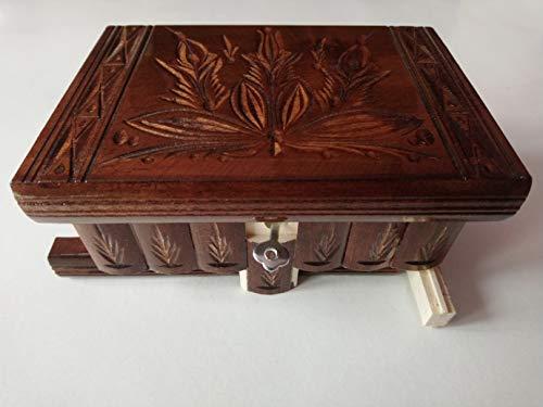 Schokolade Braun handwerk Holz Puzzle Schmuckschatulle Zauber kasten geschenk
