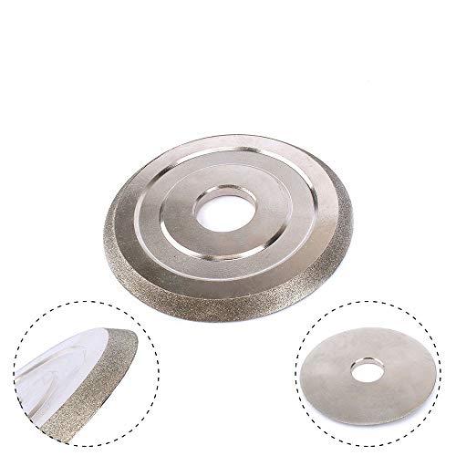 LF-wujin, 1pc 85x20x5mm Diamante Muela 45 Grados Cortador Amoladora Disco diamantado Esmerilado abrasivo for moler la Herramienta de Corte Grit150