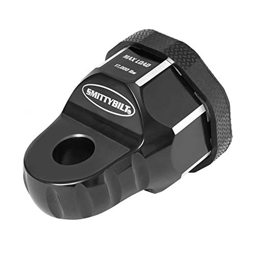 Smittybilt 2820 Aluminum Winch Shackle (A.W.S.) Universal Fit, 20k lb. Load Rating