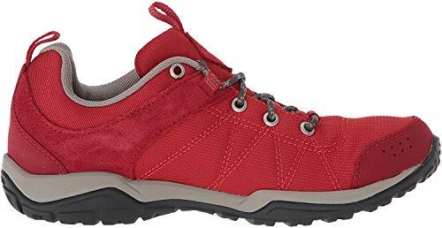 Columbia Fire Venture Textile, Zapatillas de Senderismo Mujer, Rojo (Mountain Red/Kettle 613),...