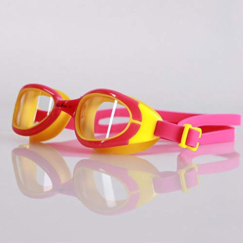JBP max zwembril voor kinderen, HD waterdicht, anti-condens, voor jongens en meisjes, Big Box zwembrillen