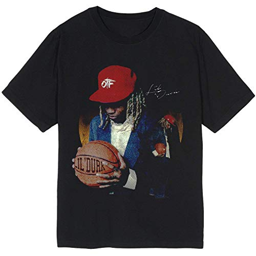 Lil_Durk Basketball Merch O t f Ballin Men t Shirt Long Sleeve - Hoodie Sweatshirt - Clothes Apparel Men Women Black