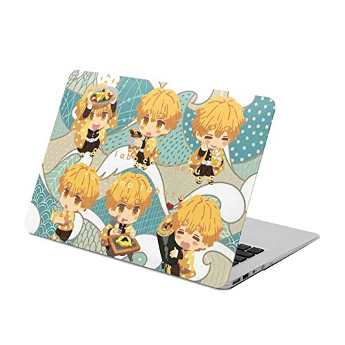 Touch15 Hard Shell Protective Case Japanese Anime Demon Slayer:Kimetsu No Yaiba Retro Waterproof MacBook Hard Shell Case Durable 360 Protective Laptop Case