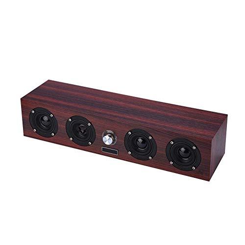 SMGLJJ Stereo-Kanal USB-Powered Lautsprecher Sound Bar for Schreibtisch, Laptop, Handy, TV, Tablet PC Retro 50MM Lautsprecher for Home Office Möbel