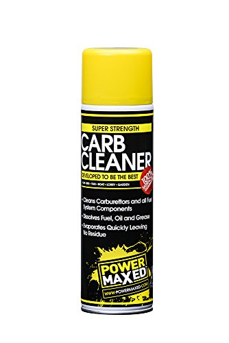 Power Maxed Pmcc500Sc02 Carb Cleaner Spray Can, 500 ml