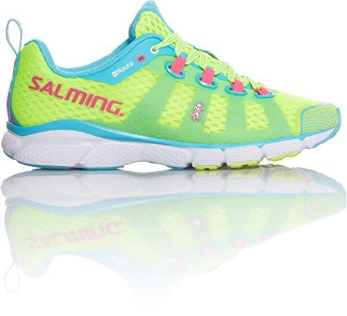 Salming Damen Laufschuh Natural Running enRoute 2-1288044 (38 2/3 EU, Grün)