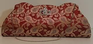 embroidered clutch zara