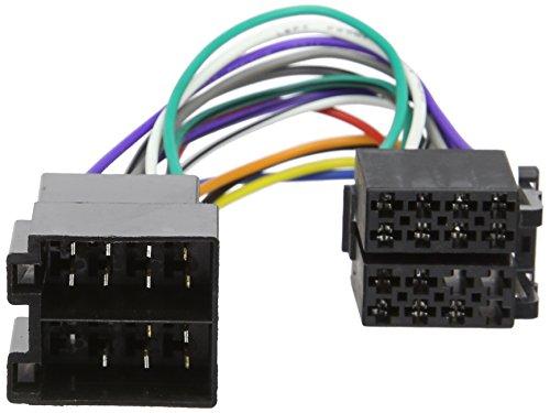 Autoleads PC2-36-4 Adaptateur de harnais de câblage d'autoradio femelle ISO vers mâle ISO