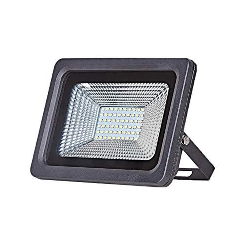 ANQIY Focos LED, Impermeable Al Aire Libre Iluminación De Señalización Publicitaria Patio De Parque De Carretera Cuadrado Focos (Color : Warm light-30W)