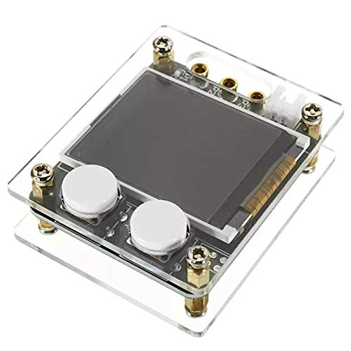 CUHAWUDBA MK328 Transistortester ATmega328 8MHz Digitales Triodenkapazit?Ts-ESR-Messger?T mit 1,8-Zoll-LCD-Bildschirm