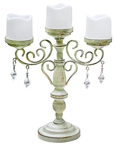 YANRUI Eisen Kerzenhalter Ornamente Handwerk Dekoration Gartentisch Dekoration Zubehör Elektronische Kerze Dekoration Skulptur Statue