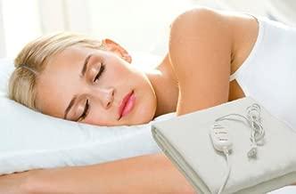 Manta electrica calienta camas 150x80cm 60w selector temperatura sueño y relax .