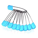 Cloth Diaper Pins Stainless Steel Traditional Safety Pin (Blue)