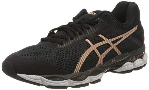 Asics Damen Laufschuhe-1012A685 Cross-Laufschuh, Black/Rose Gold, 43 EU