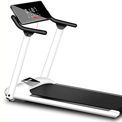 Best Buy! YFFSS Folding Treadmill Electric Motorized Power Fitness Running Machine with LED Display