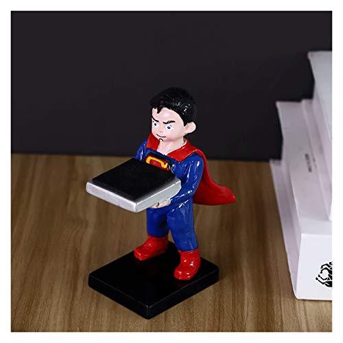 RWX Kreative Uhrenständer, High-End-Uhrenbox, Geburtstag Männer Und Frauen, Dekoration Ornamente (Color : Superman)