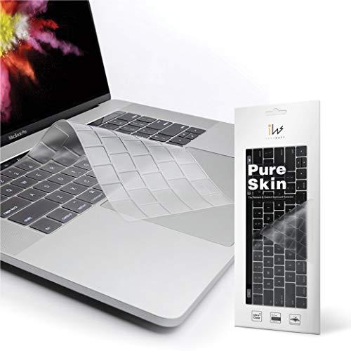 innowatt キーボードカバー クリア MacBook Pro 13 16 インチ 2020 (US) 英語配列 Touch Bar搭載 透明 防水 防塵 洗浄可 MacBook Pro (13-inch, 2020 Model A2289 A2251 A2238 M1) & MacBook Pro (16-inch, 2019 2020 Model A2141) 新しいMagic Keyboard