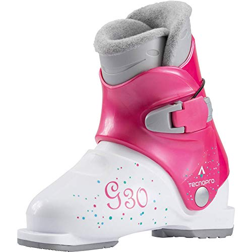 TECNOPRO Kinder G30 Skistiefel, weiß, 19.5