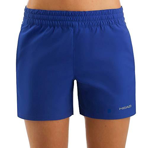 HEAD Damen, Club Shortsilber Oberbekleidung, blau, XL