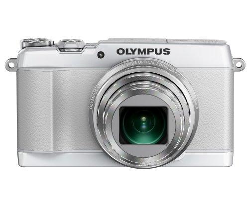 OLYMPUS デジタルカメラ STYLUS SH-1 ホワイト 光学式5軸手ぶれ補正 光学24倍&超解像48倍ズーム SH-1 WHT
