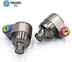 TIN Audio T2 3.5mm in Ear Earphone Double Dynamic Drive HiFi Earphone Metal Earphone MMCX Detachable Headset