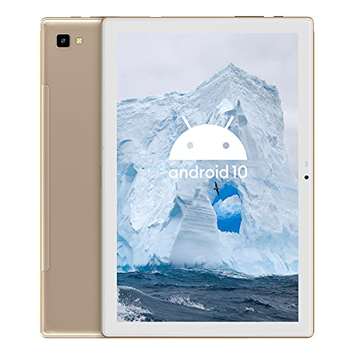 Blackview Tab8 Tableta 10.1 Pulgadas Android 10 4G Dual SIM 5G WIFI, 4GB RAM+64GB ROM (TF 128GB), Octa-Core, Tabletas Cámara Dual 13MP +5 MP, Batería 6580mAh | Face ID | GPS | OTG | Bluetooth