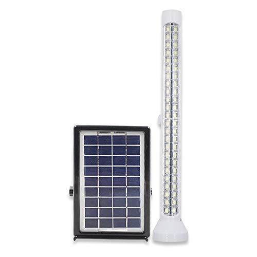 W.Z.H.H.H Luces solares Luz Solar LED Tubo Solar Actualización Luz de inundación Solar Luz de Camping Solar Luces al Aire Libre