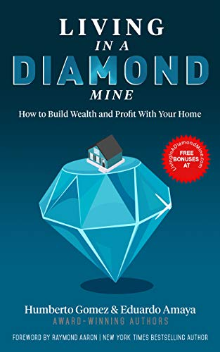 LIVING IN A DIAMOND MINE: How to Build Wealth and Profit With Your Home (English Edition)
