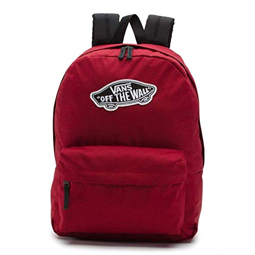 Vans Realm Backpack Mochila Tipo Casual 42 Centimeters 22 Rojo  Biking Red