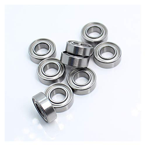 CHENYINGHUI Practical 684ZZ Tips Bearing 4x9x4 mm For Strong Drill Brush Handpiece MR940ZZ Nail Ball Bearing 10Pcs (Size : 684ZZ 4x9x4mm)