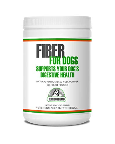 Fiber for Dogs psyllium seed husk powder & dehydrated beet root powder aids a number of intestinal disorders in dogs including diarrhea, constipation & anal gland issues. Available in 6 and 12 oz.